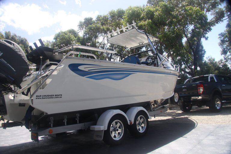 aluminium boat bar crusher