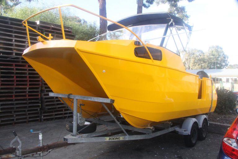 Aluminium boat paint